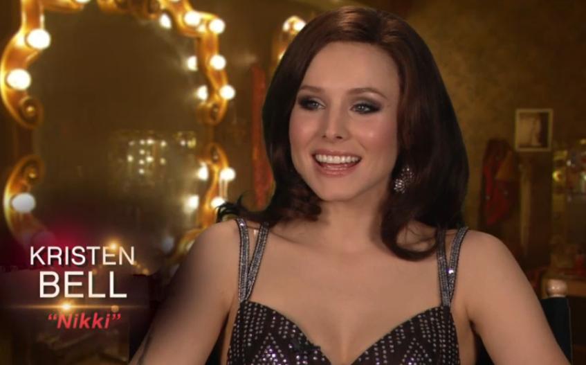 Kristen Bell Tattoos Under Chin: Burlesque Screen Shots